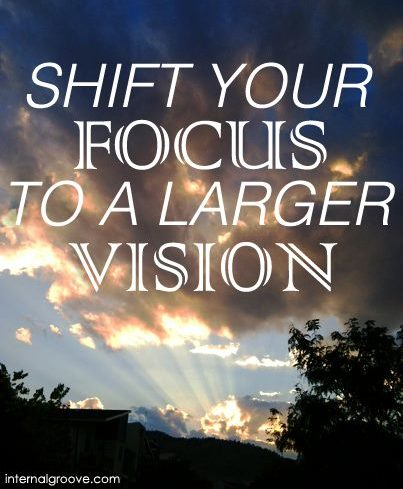Shift Your Focus to a Larger Vision