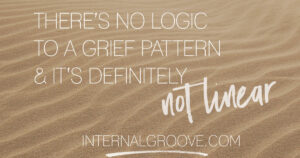There is no logic to a grief pattern and it's definitely not linear.
